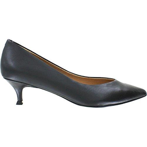Vionic Womens Josie Kitten Heel Black 11 W