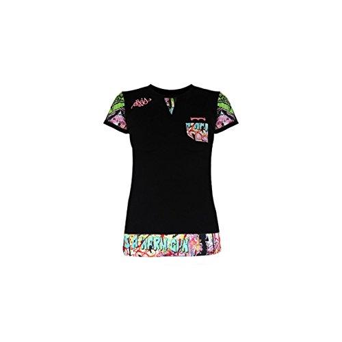 Para Eskis Mujer Eskis Camiseta Camiseta Negro qvdwtv0
