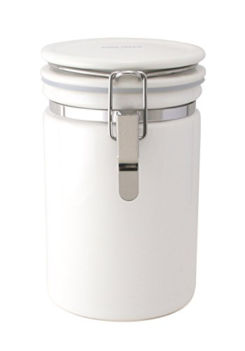 Coffee Canister 200 White Co-200 Wh (japan import)