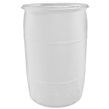 Air Sea Containers 55 Gallon Reconditioned Closed-Head UN Rated Poly Drum with Screw Cap