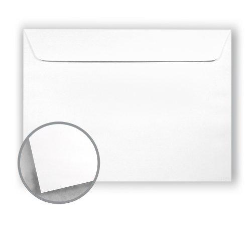 Printmaster White Envelopes - No. 9 1/2 Booklet (9 x 12) 28 lb Writing Wove 500 per Carton National Envelope Printmaster