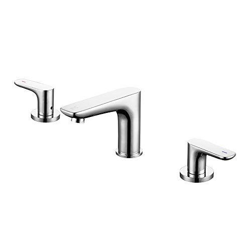 - Moned The Three Double Basin Faucet Copper Cold Undercounter Washbasin Faucet Copper Three Piece,Full Copper Three Piece Set Bquality Assurance Of Modern Simple Luxury, Luxury And Ancient Classic Hom