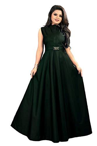 vaidehi creation Women's Silk a-line Dress Material
