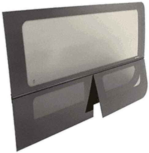 - CRL 2007+ OEM Design All Glass Look Sprinter Van T-Vent Passenger Side Sliding Door Window for 170