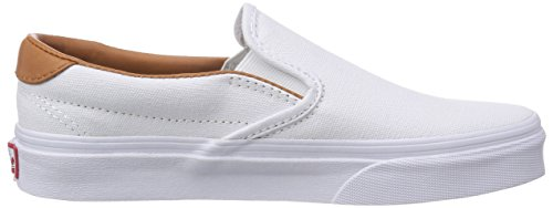 Adulte On Chaussons Vans Blanc 59 Washed Slip L C Sneaker Mixte pFqnT
