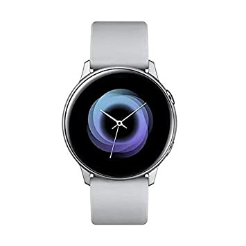 "Samsung Galaxy Watch Active – Smartwatch (1,1"",40mm, Tizen, 768 MB de RAM, Memoria Interna de 4 GB), Color plata – Versión Española"