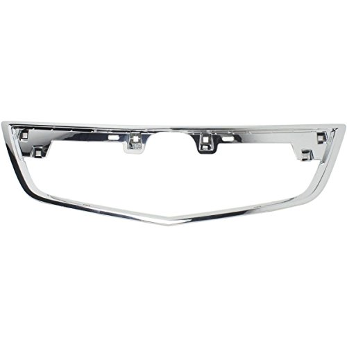 New Front Grille Molding For 2012-2014 Acura Tl Chrome AC1202104 75105TK4A11 ()