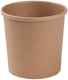 BIOZOYG Taza Bio orgánica de cartón Kraft I Taza compostable con ...