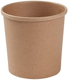 BIOZOYG Bio gobelets en Papier gobelets Aliments Carton Kraft Marrons I Gobelets compostables avec rev/êtement int/érieur PLA /à emporter Glace Papier I 25 Gobelets jetables biod/égradables 300ml