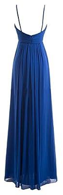 Queenworld Chiffon Bridesmaid suspenders skirt