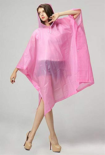 Portable Capuche Pluie Qualité Vélo Veste Rose Raincoat Translucide De En Vêtements Jeune Matériau Poncho Haute Adulte À Unisexe qBFzaq