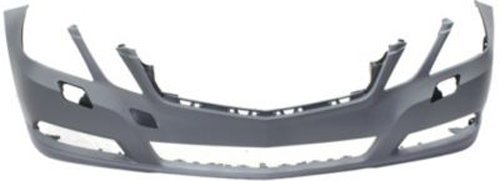 CPP Primed Front Bumper Cover Replacement for 2010-2014 Mercedes-Benz E-Class Sedan