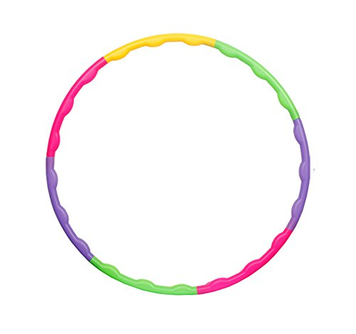 Hula Hoop Toy Children's Detachable Exercise Small Hula Hoop for Sports & Playing