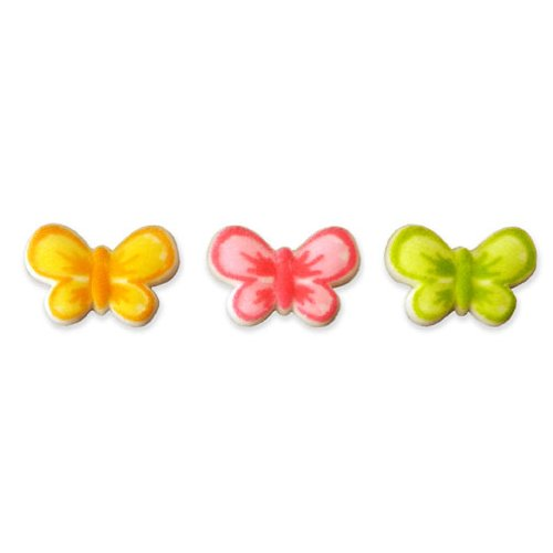Butterfly Sugar Decorations Cookie Cupcake Cake 12 Count (Butterfly Cookie Cakes)