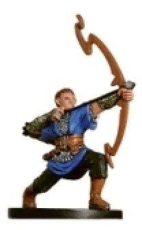 D & D Minis: Half-Elf Bow Initiate # 18 - Aberations