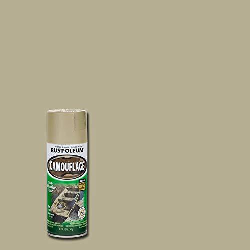 - Rust-Oleum 1917-830 1917830 Camouflage Spray, Khaki, 12-Ounce