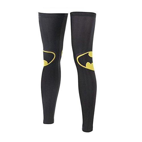 George Jimmy UPF 50+ Cycling/Hiking/Running/Basketball/Golf/Fishing Leg Sleeves XXL-10 by George Jimmy
