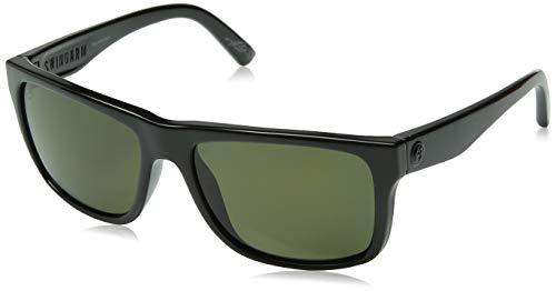Electric Unisex Swingarm Polarized Sunglasses, Gloss Black/Melanin Grey Level 1, One ()