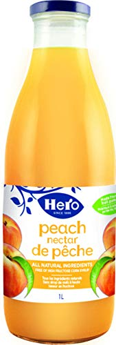Hero Peach Nectar, 33.8 Ounce (Pack of 6)
