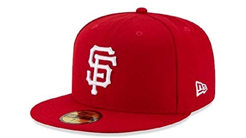 finest selection ae935 a704f New Era Men s 59FIFTY  San Francisco Giants Red Hat 7 5 8