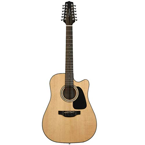 (Takamine GD30CE-12NAT Dreadnought 12-String Cutaway Acoustic-Electric Guitar)