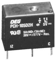 TE CONNECTIVITY / OEG PCH-105D2H POWER RELAY, SPDT, 5VDC, 5A, PC