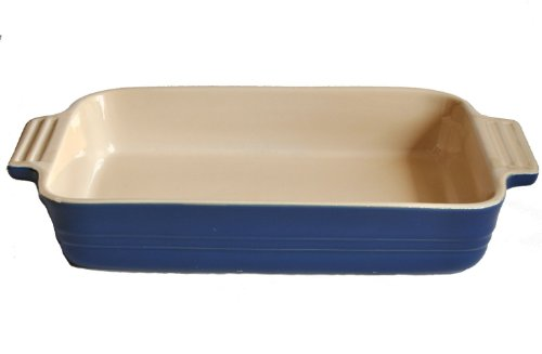 Le Creuset Stoneware Poterie 7 Inch Rectangular Baking Dish, Solid (Poterie Dish)