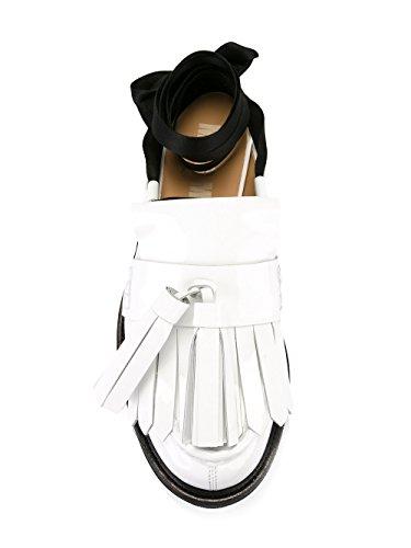 MSGM Mocassini Donna 2241MDS36001 Pelle Bianco