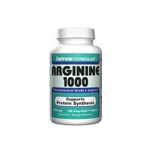 Jarrow L Arginine 1000mg