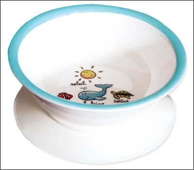 Baby Cie Suction Bowl La Mer, The Ocean (Baby Cie Suction Bowl)