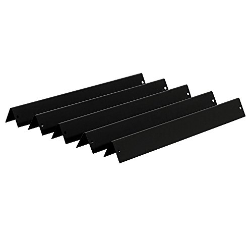 BBQ-Toro Porcelain Steel Flavorizer Bars (5 pcs) | 17.6 inches | for Weber Genesis 300 Series (front-mounted controls) | (model years: 2011-2016) by BBQ-Toro