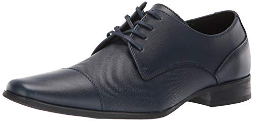 Calvin Klein Men's Bram Oxford, Dark Navy Diamond Leather, 11.5M M US ()