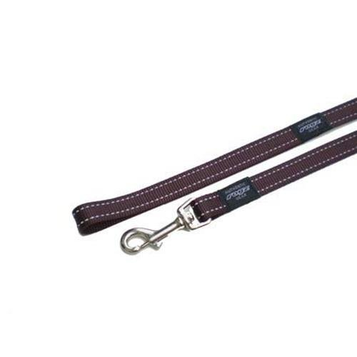 Rogz Utility Snake Brown dog leash 4,7 ft Medium