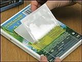 Clear Vinyl Peel and Stick Pockets - 3 1/4'' x 5 1/4'' - 100/Pkg