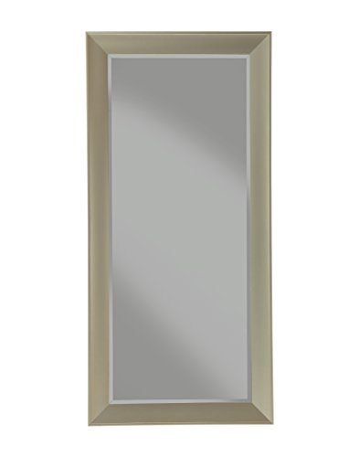 Sandberg Furniture Contemporary, Full Length Leaner Mirror, Brushed Bronze (Bronze Brushed Mirror)