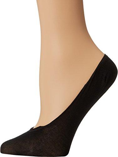 (Wolford Women's Footsies 15 Socks, Black, Medium)