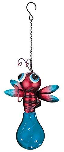 Regal Art & Gift Solar Firefly Lantern, Blue -