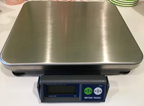 (Mettler Toledo Bench Scale BC-60U BC series Shipping UPS Bench Scale,NTEP Legal For Trade,RS232, 150 lb x 0.05 lb,New Replacement from Mettler for PS60)