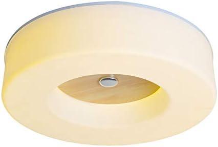 Plafoniere Con Lampade A Risparmio Energetico : Moderno plafoniera rotonda led legno watt in