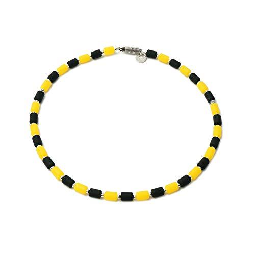 クリオ インパルスネックレス (シルバー925) レモン&ブラック M50cm B07GDLXRRH
