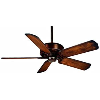 Craftmade brx52bcp5 braxton brushed copper 52 ceiling fan with casablanca 6632z panama ceiling fan weathered copper blades sold separately mozeypictures Gallery