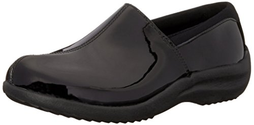 Skechers Women's Savor singular Mule, Black Patent Leather, 6 M US by Skechers