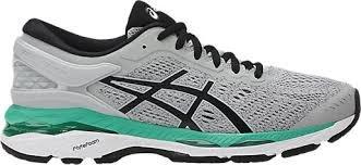ASICS Women's Gel-Kayano 24 Running Shoe, Mid Grey/Black/Atlantis, 8 Medium US by ASICS