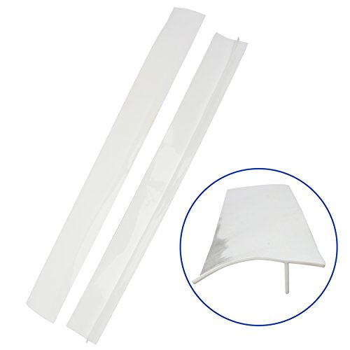 Gap Seals White Flexible McClures