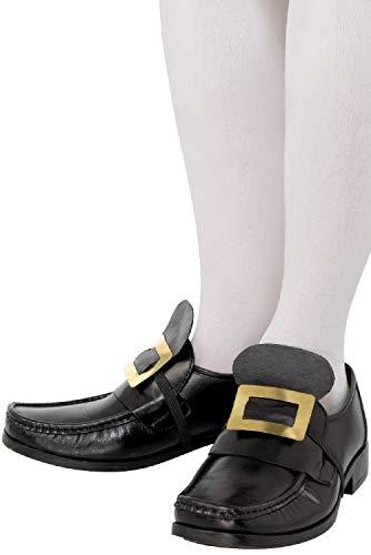 Sorcière Style Pour De Noël Boucle Anglais Père Homme Chaussures Géorgien Ancien Fancy Me UwqP1An6