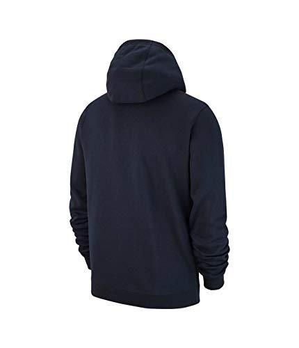 À Fz Club19 obsidian 451 white Veste aj1313 Nike Capuche Tm Homme Fleece Bleu YxfpnYgd