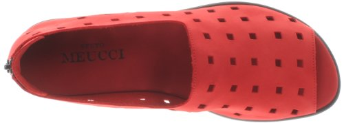 Sesto Nubuk Red Evonne Meucci Women's Red Loafer Dark Dark FZqfFC