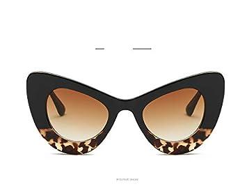 YSFU Gafas de sol La Sra. Cat Eye Gafas De Sol Gafas con ...