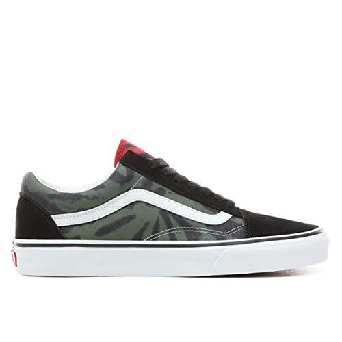 Vans Mens Tie Dye Old Skool Multi/Black Sneaker - 8.5