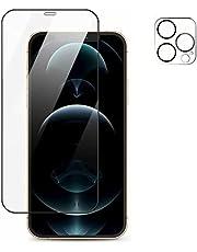 TADMA Folia ochronna na cały ekran do iPhone 13 mini 0,26 mm 9D przezroczysta, odporna na zarysowania, odporna na zarysowania folia ze szkła hartowanego, 5,4 cala szklana osłona ekranu + folia do aparatu